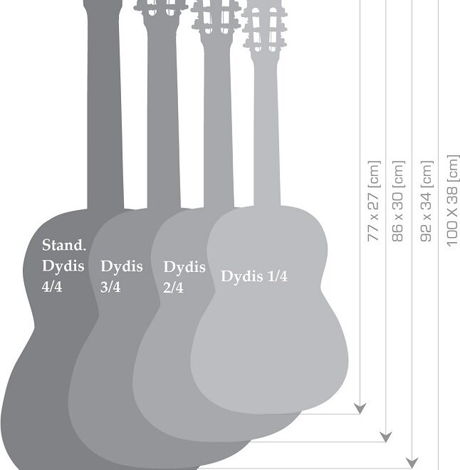 Gitarų dydžiai